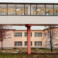 Переход больничного корпуса :: Сергей Яценко