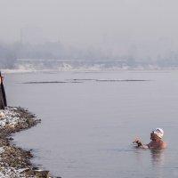 приплыла к нему рыбка,спросила... :: Олег Мартоник