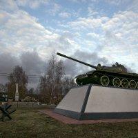 Памятник Советским войскам :: Евгений Мергалиев