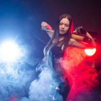 Девушка в Дыму :: John Afanasyev
