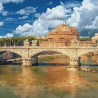 Рим. Мост Виттора Имануила и замок св. Ангела :: Александр Святкин