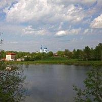 Вид из парка на Гатчину :: Наталья
