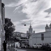 Улицы московские... Малый Ивановский переулок :: Наталья Rosenwasser