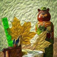 На столе :: Александр Силинский