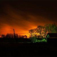 Пожар. 5 км. до деревни :: Petr