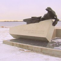 Памятник тюленю. :: Елена Перевозникова