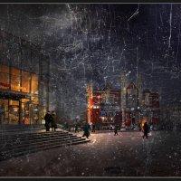 Зимний вечер на Черной речке :: Лариса Шамбраева