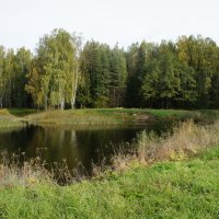 Конец сентября в Павловском парке :: Елена Павлова (Смолова)
