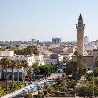 вид на город и мечеть со смотровой площадки :: Константин Нестеров