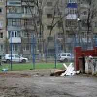 Футбол рядом с мусоркой!! :: A.Olya.A Амельченко