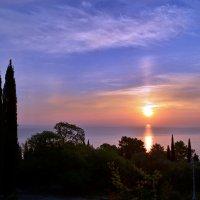 Восход в Ливадии :: Ольга Голубева