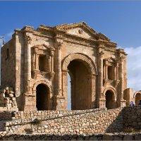 Триумфальная арка императора Андриана, Джераш, Иордания :: Lmark