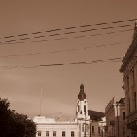 Центральная площадь.Черновцы :: Яна Чепик