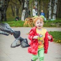 Мы все в детстве........гоняли голубей..... :: Леонид Мишанин