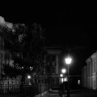 Чёрно-белая магия вечера... :: Марина Павлова