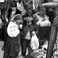 На выставке Гранд Текстиль на Тишинке в Москве.. :: Ира Егорова :)))