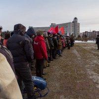 На митинге :: Павел Белоус