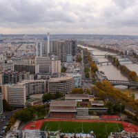 Париж с высоты фанеры :: Дмитрий Сорокин