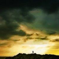 Прыжок на закате :: Любовь Белянкина
