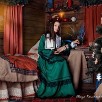 Тихим зимнем вечером... :: Олеся Корсикова