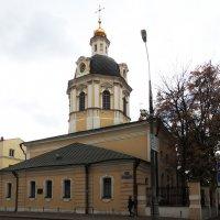 Церковь Николая Чудотворца в Звонарях. :: Александр Качалин