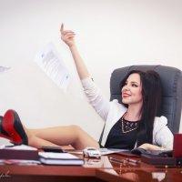 """Фото проект """"Бизнес леди"""" :: Алёна Вихарева"""