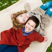 Мама и дочка :: Анна Гончарова