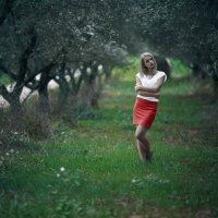 Девушка в оливковых деревьях :: Artemii Smetanin