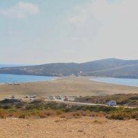 Поцелуй двух морей - место слияния двух морей Эгейского и Средиземного :: Борис Шубин