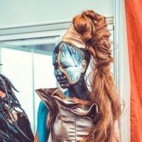 XIV Открытый Чемпионат Екатеринбург по парикмахерскому искусству, декоративной косметике и нейл-диза :: михаил шестаков