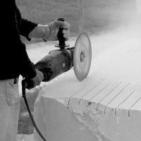 Работа скульптора по мрамору :: Валерия  Полещикова