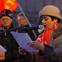 На митинге коммунистов. :: Александр Коряковцев