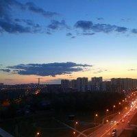 Москва на закате :: Ваха Бештоев