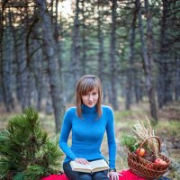 в лесу :: Кристина Волкова(Загальцева)
