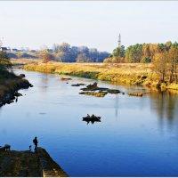 На реке. :: Валерия Комова