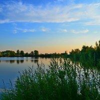 Вечер на озере :: Окcана Гетманец