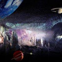 Моя фото-фантазия на тему пещеры Постойнска-Яма :: Детский и семейный фотограф Владимир Кот