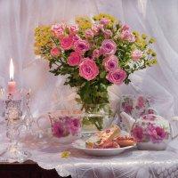 ...Дыханьем нежным грустной розы... :: Валентина Колова