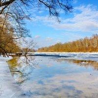 Голубой  пейзаж. :: Валера39 Василевский.