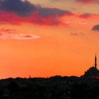 Стамбульский закат :: Елена Даньшина