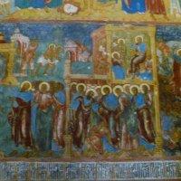 Фрагмент росписи стен  собора :: Galina Leskova