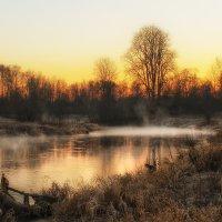 Туман над рекой :: Иван Анисимов