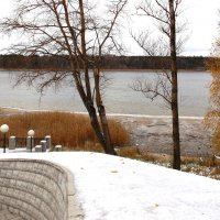 Первый в этом году снег :: Фотогруппа Весна.
