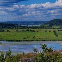 парковское озеро :: Ольга Cоломатина