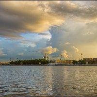 Санкт-Петербург. Вид со Свердловской набережной. :: Сергей Еремин