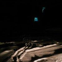 зима, ночь, окно... :: Маргарита Лапина