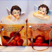 Ангелочки в сумочках. :: Валерия Комова
