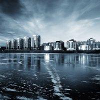 Город ледяной... :: Александр   Матвей БЕЛЫЙ