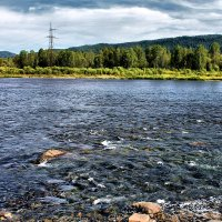 на реке :: Александр мигай