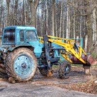 Трактор :: Дмитрий Дмитриев